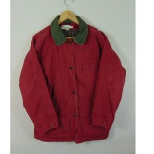Vintage 90's L.L. Bean M Quilted  Barn Jacket
